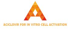 Aciclovir for In Vitro cell activation, laboratory research only